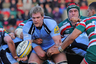 Andrew Van der Heijden played recently in the English Premiership for Newcastle Falcons. Photo / Getty Images