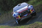 Sebastien Loeb leads Rally New Zealand after day one. Photo / Getty Images.