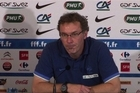 France coach Laurent Blanc has admitted angry words were exchanged by his players after their loss to Sweden in Euro 2012, but played down the significance of the incident.