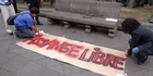 Watch: Assange supporters demonstrate in Quito