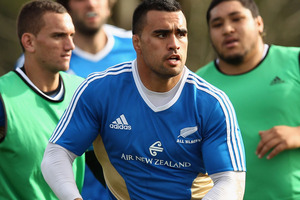 The auditions to become the All Blacks' next blindside flanker continue in Hamilton on Saturday when Liam Messam gets a chance against Ireland. Photo / Getty Images.
