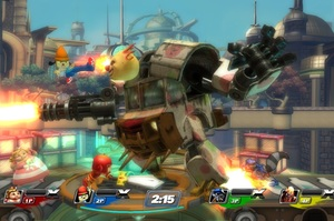 'PlayStation All-Stars: Battle Royale' promises smooth combat in a mad world. Photo / Supplied