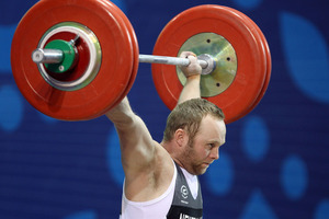 Richie Patterson was today confirmed in the Olympic team to travel to London. Photo / Ian Walton.
