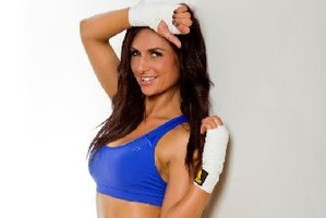 Rosanna Arkle is confused about what to wear during her upcoming fight with Jaime Ridge.  Photo / Supplied