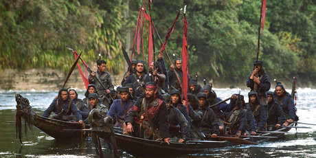 'River Queen' was shot on the Whanganui River, one of many spectacular New Zealand locations used in the movie business. Photo / Ken George