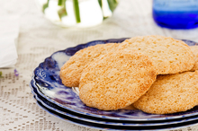 Almond meringue cookies. Photo / Babiche Martens