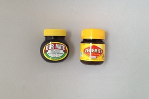 Our Mate and Vegemite