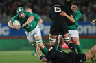 Ireland flanker Sean O' Brien shook up the All Blacks last week in Christchurch. Photo / Getty Images.