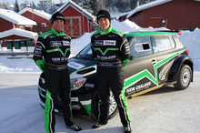 John Kennard and Hayden Paddon. Photo / Supplied