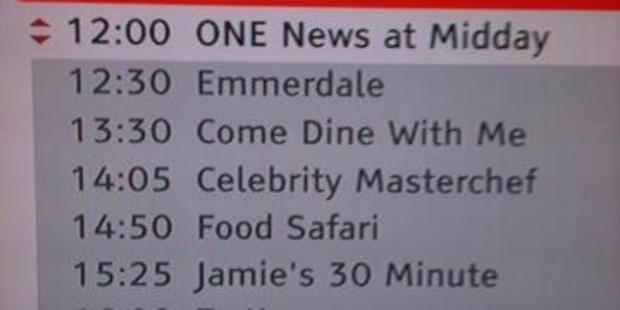 TV One's schedule yesterday left some confused as to what they were watching. (Hat tip to Nick D'Angelo)