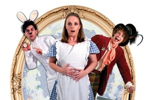 'Alice in Wonderland' is among plays set to entertain younger theatregoers this holidays. Photo / Supplied