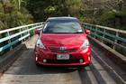 Toyota Prius v Wagon. Photo / Jeremy Toth