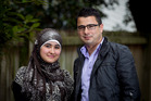 Shabnam Sharifi (left) and Ahmad Zareh help young refugees with training, career planning and job placement. Photo / Natalie Slade