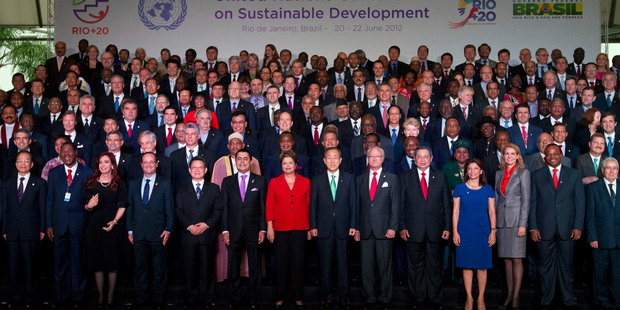 World leaders are at the Rio +20 summit to map out the path to a sustainable future in which prosperity for many will take precedence over misery for all. Photo / Supplied