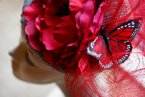 Fascinators have been banned in the Royal Enclosure at Royal Ascot races.  Photo / File