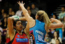 Magic's shooter Julianna Naoupu is keen to stay in the selector's good books. Photo / Christine Cornege