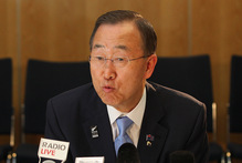 UN Secretary-General Ban Ki-moon hailed the statement as a blueprint for making the world a brighter, safer place.