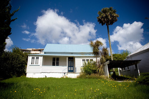 Number 18 Paget St in Freemans Bay, Auckland. The owners of this old cottage have had council permission to demolish it even though it's in a Auckland Council heritage zone. Photo / Dean Purcell