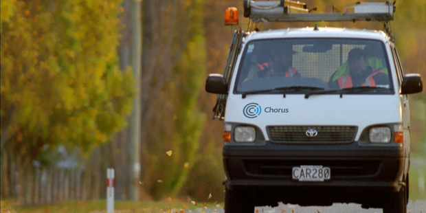 There are worries in the industry that the price regulation could put consumers off switching to below-ground ultra-fast fibre lines from copper services. Photo / Supplied