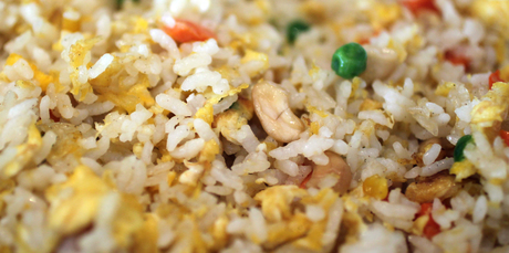 Oriental stir fried rice. Photo / Doug Sherring