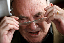Author and TV personality Clive James. Photo / NZ Herald