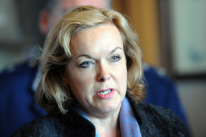 Judith Collins believes there should be a specific offence of inciting suicide. Photo / NZPA.