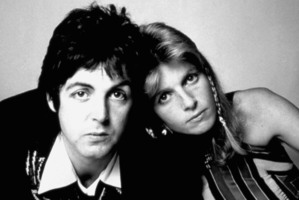 Paul and Linda McCartney. Photo / Supplied