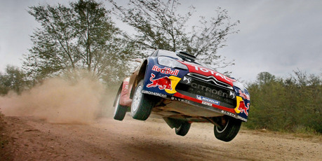 Citroen rally driver Mikko Hirvonen in Argentina. Photo / Supplied