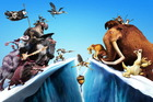 The old team of Sid, Diego, Manny and Scrat are back in Ice Age 4. Photo / Supplied
