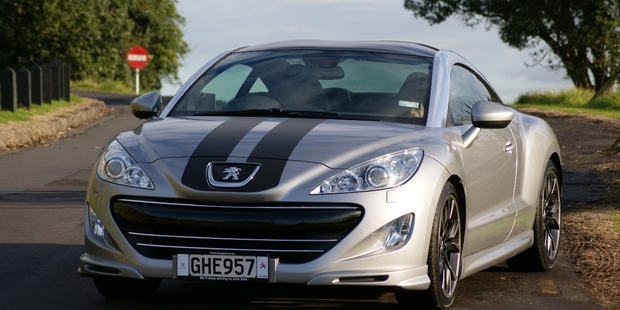 Peugeot RCZ. Photo / David Linklater
