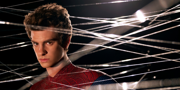 Andrew Garfield stars as Peter Parker/Spider-Man. Photo / Supplied