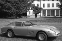 The Ferrari 275 GTB4 coupe owned by Steve McQueen before it was converted to a Spider. Photo / Supplied