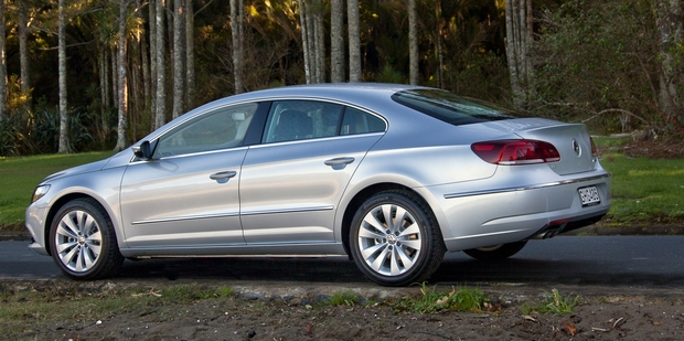 Volkswagen CC. Photo / Phil Hanson