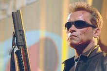 Arnold Schwarzenegger in Terminator. Photo / Supplied