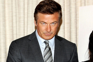 Alec Baldwin lowered his trousers during an appearance on the Late Show with David Letterman. Photo / AP
