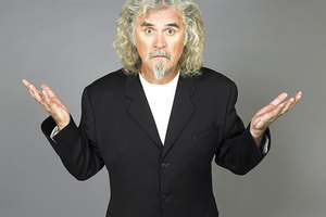 Billy Connolly says filming the Hobbit is a massive undertaking. Photo / Supplied