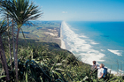 Maunganui Bluff on the west coast of Northland. Photo / Supplied