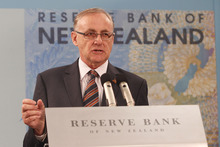 Reserve Bank Governor Alan Bollard is now unlikely to cut the OCR after today's surprising economic figures. Photo / NZH