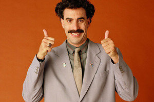 Borat has been named one of the funniest comedies of all time by readers of Empire magazine. Photo / Supplied