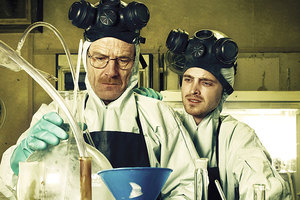 A scene from Breaking Bad.  Photo / Supplied