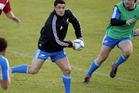 Dan Carter damaged his right hamstring at training and will miss the third test against Ireland.  Photo / Getty Images