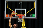 Casey Frank in action for the Tall Blacks. Photo / Getty Images