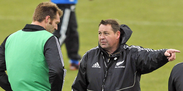 Steve Hansen has to accept he can no longer pick Ali Williams on faith alone. Photo / Getty Images