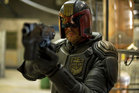 Karl Urban as Judge Dredd. Photo / Supplied
