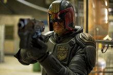 Karl Urban as Judge Dredd. Photo / Supplied