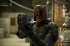 Karl Urban in Dredd.