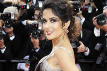 Salma Hayek says her dad ended her Olympic gymnastic dream. Photo / AP