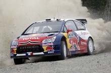 Sebastien Loeb competing in Rally NZ in 2010. Photo / Supplied