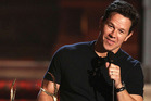 Mark Wahlberg is teaming up with Justin Bieber for a sports film.  Photo / AP