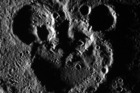 M-I-C, K-E-Y M-O-U-S-E has been found on Mercury. Well kind of. Craters in the image of the Disney character have been snapped by NASA's Messenger spacecraft. Photo / NASA/Johns Hopkins University